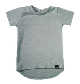 Mini knit oud groen t-shirt
