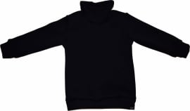Black col sweater