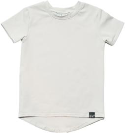 Zilver grijs long t-shirt