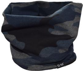 Camo blue scarf