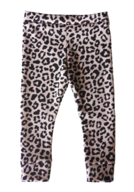 Panter roze legging