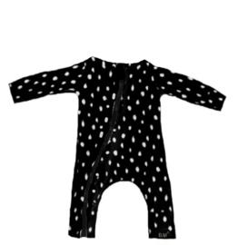 Dot zwart onesie (zonder capuchon)