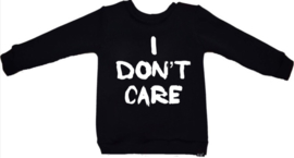 I don't care sweater
