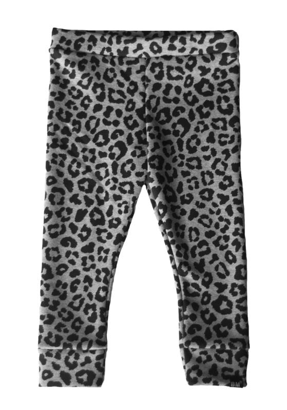 Panter grijs brushed legging
