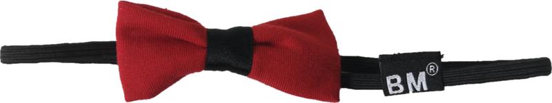 Rood haarband elastiek