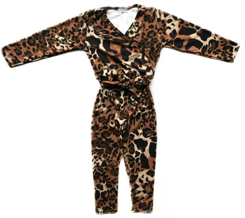 Panter brown jumpsuit