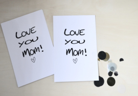 Postkaart - Mom