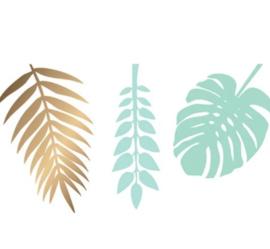 Decoratiebladeren- Groen