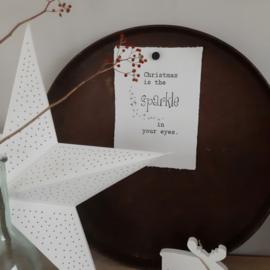 Poster A4 -Christmas sparkle