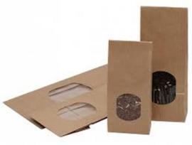 Paperbag met venster