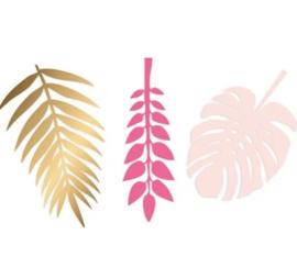 Decoratiebladeren- Roze