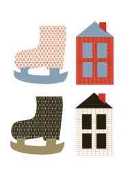 Labels - Skates en houses