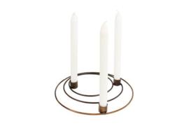 Kandelaar-Imme rond incl. kaarsen