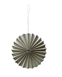 Ornament- Warmgrijs - 5st.