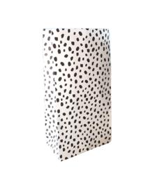 Paperbag-dots wit M