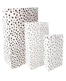 Paperbag-dots wit L