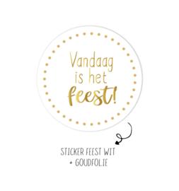 Stickers -Vandaag is het feest! 50 st