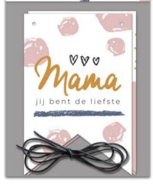 Vlaggenlijn+ envelope MaMa