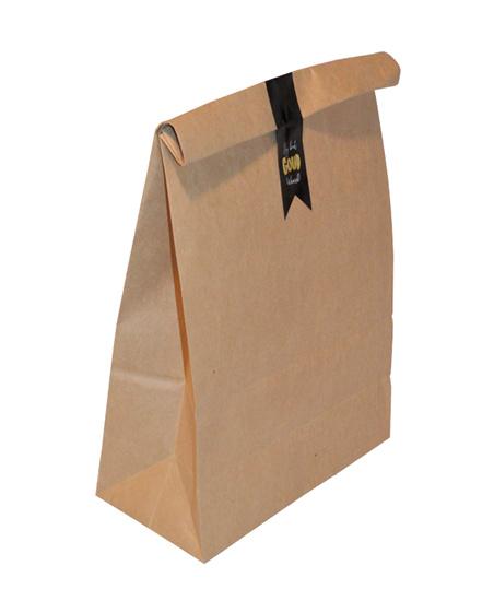 Paperbag-bruin L