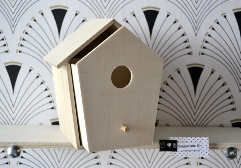 Vogelhuis - Hout