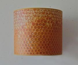 Honingraat-lampenkap uit