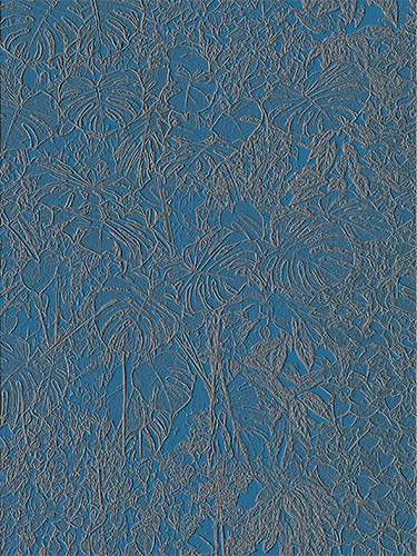 Bladerdek Trace Blauw