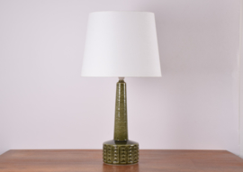 Incl New Lampshade PALSHUS Denmark Tall Table Lamp Moss Green Danish Mid-century Ceramic Lighting // PRICE UPON REQUEST