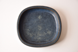 PALSHUS Very Large Slightly Oval Dish Midnight Blue PL-S Danish Mid-century