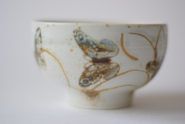 Nils Thorsson for Royal Copenhagen DIANA Series Bowl with Butterfly Danish Mid-century