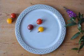 Jens H Quistgaard CORDIAL Big Circular Platter Kronjyden / Nissen / Bing & Grondahl midcentury