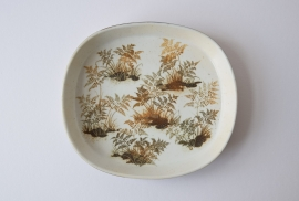 Nils Thorsson for Royal Copenhagen Big sized tray DIANA Series no 1050/5305 Danish midcentury