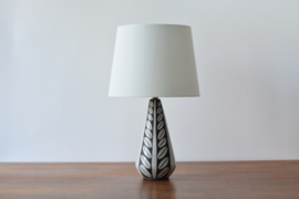 Michael Andersen & Søn / Marianne Starck Attributed Table Lamp Negro / Tribal Series Danish Mid-century Ceramic Lighting