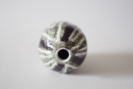 Ingrid Atterberg for UE Upsala Ekeby Progresso vase with handle chamotte midcentury