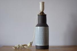 Anni Jeppesen for Aluminia / Royal Copenhagen Table Lamp THULE series 3242 Danish midcentury