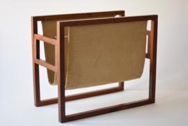 Kai Kristiansen for Sika Magazine Rack rosewood Danish mid century design