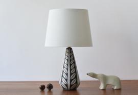 Michael Andersen & Søn / Marianne Starck Attributed Table Lamp Negro / Tribal Series Danish Mid-century Ceramic Lighting