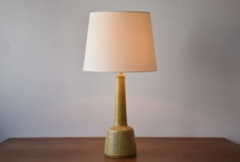 Incl New Lampshade PALSHUS  / Le Klint Denmark Tall Table Lamp  Yellow Esben Klint Danish Mid-century Ceramic Lighting  // PRICE UPON REQUEST //