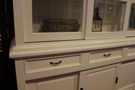 Buffetkast La Provence 3-deurs wit RAL 9010.