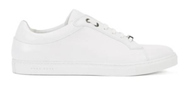 Real Leather Sneakers White