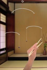 Flying chopsticks