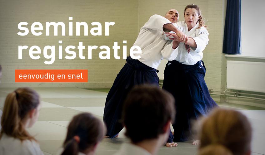 aikido seminar registratie ando