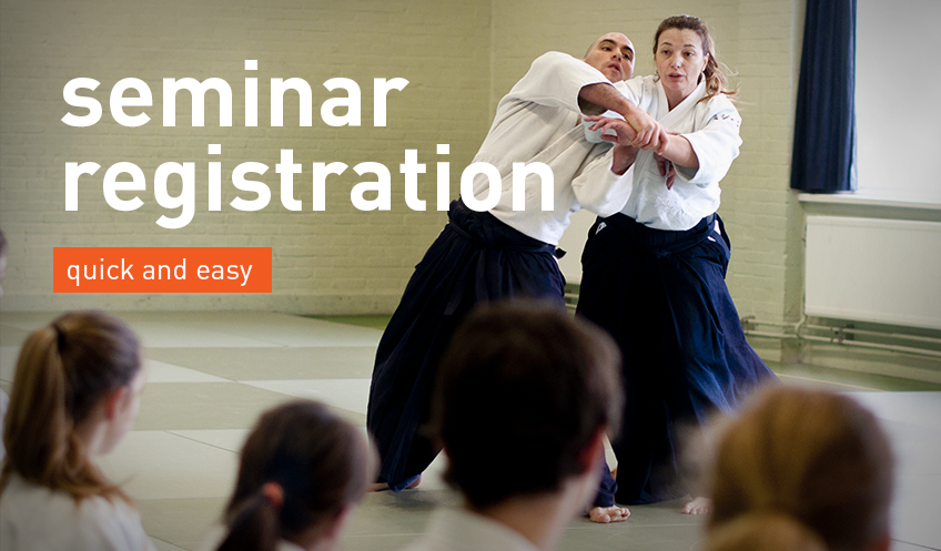 aikido seminar registration