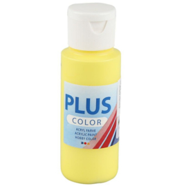 Plus Color acrylverf - Primary Yellow / 60 ml