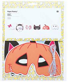 Halloween - Masker (6stuks)