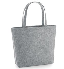 Felt Shopper - Grey Melange