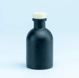Luxe flesje Zwart - Naturel Dop 50ml