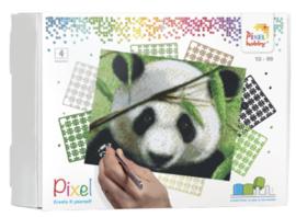 Pixel KIT - 4 basisplaten Panda