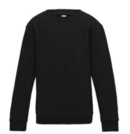 Kids AWDis Sweater - Jet Black