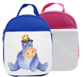 Lunch Bag Kids BLUE - voor sublimatie