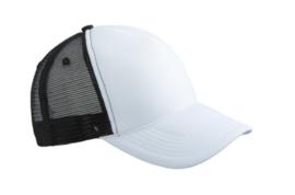 Retro Mesh Cap - White / Black